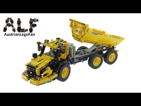 Vidéo LEGO Technic 8264 : Le camion-benne