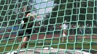 Robert Harting - 70,66m (PB) - Danek Memorial 2012 - side view
