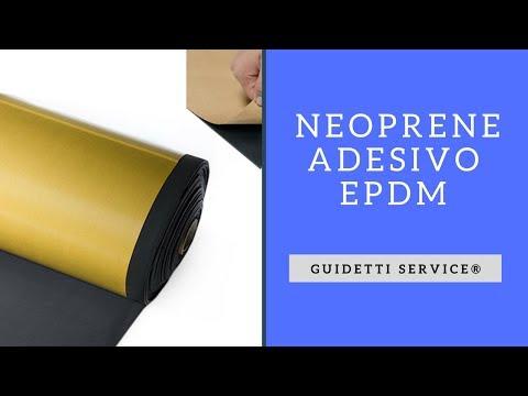 FOGLI DI NEOPRENE ADESIVO  EPDM