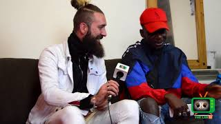 Kid V interview with The Labtv Ireland | Rappers in Ireland using BRITISH ACCENT