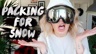 ❄ ULTIMATE PACKING GUIDE FOR A SKI/ SNOW TRIP ⛄    Karismas DAY 23