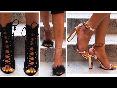 HUGE LITT FASHION NOVA SHOE TRY ON HAUL 2017