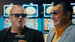 See our TV commercial airing now for WinnaVegas Casino with De Niro & Nicholson!