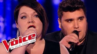 Charles Aznavour – Comme ils disent | Mathilde VS Yoann Launay | The Voice France 2015 | Battle