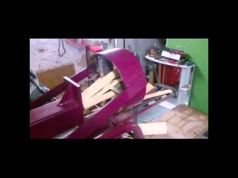 Holzspaltmaschine für Anfeuerholz