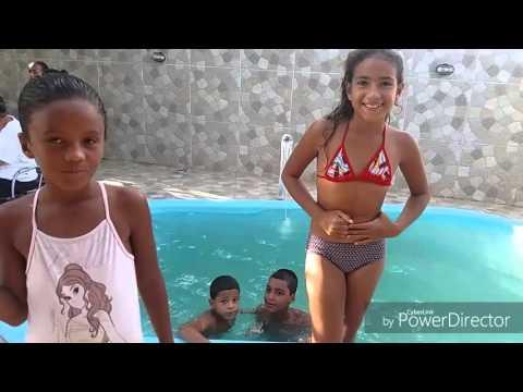 Desafio da piscina 👏👏💕🏊