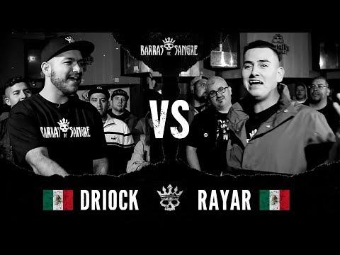 Barras De Sangre: Driock Alto Kalibre 🇲🇽 vs Rayar 🇲🇽 [ Batallas Escritas ]