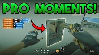 PRO Gamer Moments! - Rainbow Six Siege Gameplay