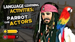 OUINO™ Language Tips: Language-Learning Activities (Parrot The Actors)