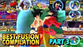 Dragon Ball Best Fusion Compilation PART 3   BEST DBZ FUSIONS OF 2017   DBZ Tenkaichi 3 (MOD)