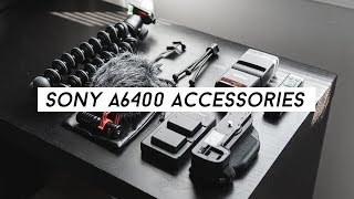 Sony a6400 BUDGET Accessories! / Sony APS-C Accessories