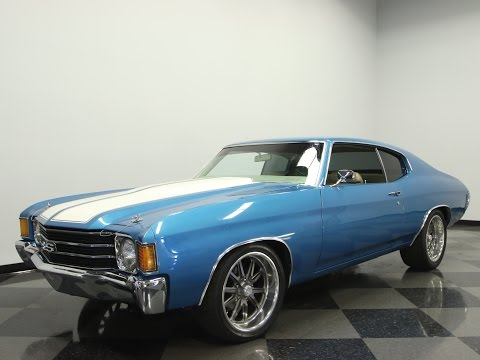 Video of '72 Chevelle - KZ8L