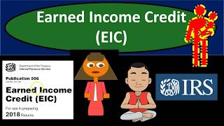 Earned Income Credit (EIC) 2018 Total