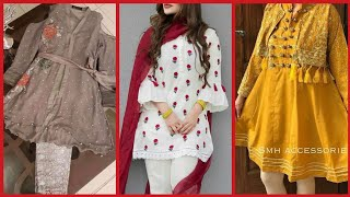 Stylish And Comfortable Dresses For Girls Eid Collection