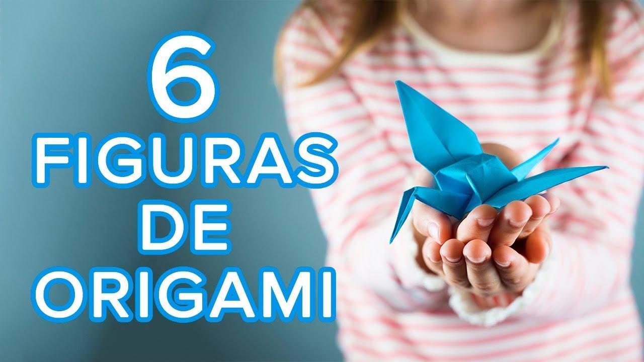 6 figuras de origami geniales para hacer en casa | Origami fácil para niños