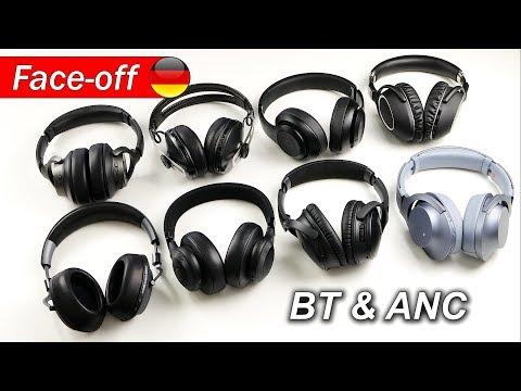 Noise-Canceling Bluetooth Kopfhörer Vergleich (Anfang 2018)