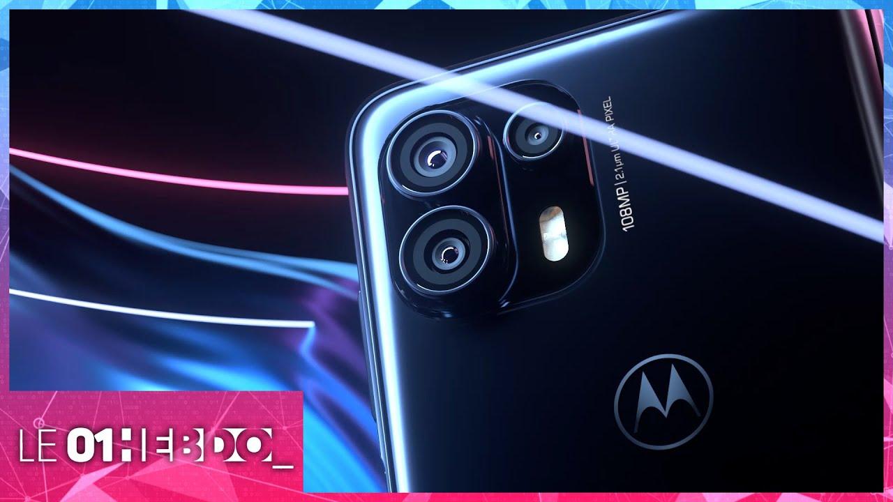 01Hebdo #321 : Motorola fait son retour avec une nouvelle gamme de smartphones