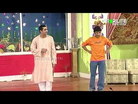 Zafri Khan and Sakhawat Naz New Pakistani Stage Drama Full Comedy Funny Clip