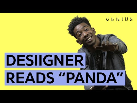 Learn The Lyrics To Panda w/ Desiigner