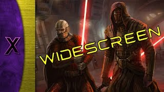 How to play KOTOR in 1080p on windows 7