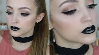 Black Foiled Lips | Chatty Get Ready by Kathleen Lights