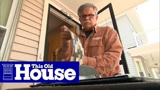 How To Install A Glass Tile Backsplash | This Old House