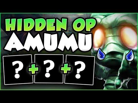 YOU WON'T BELIEVE HOW OP THIS SECRET AMUMU TOP BUILD IS! AMUMU TOP  GAMEPLAY! - League Of Legends