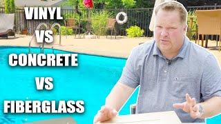 Vinyl Vs Concrete Vs Fiberglass Pools | Albert Group Pools & Patios