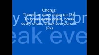 Tasha Cobbs   Break Every Chain (Lyrics)