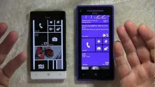 HTC Windows Phone 8X und 8S: Hands-On und erster Eindruck