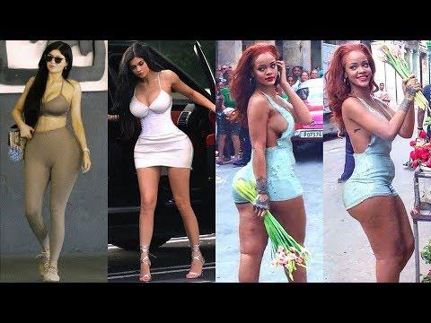 Kylie Jenner Vs Rihanna Transformation ★ 2019