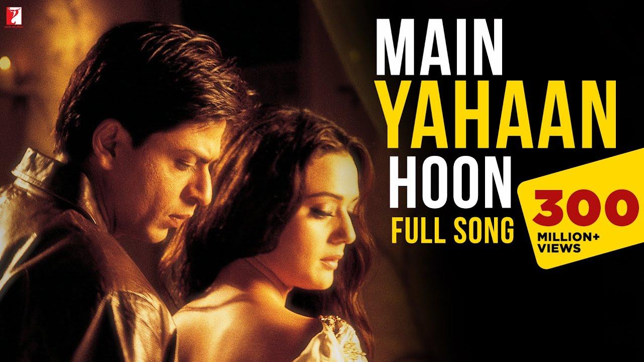 Main Yahan Hoon hindi song lyrics