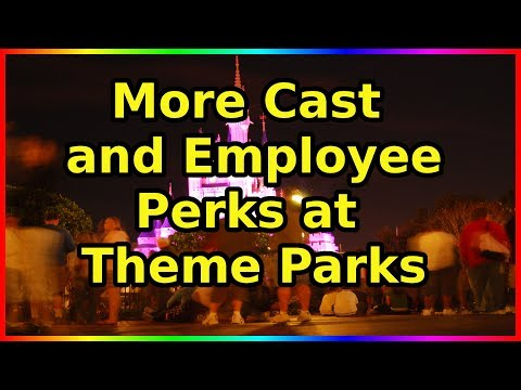 More Cast Perks And Employee Special Events - Ep 60 Confessions Of A Theme Park Worker