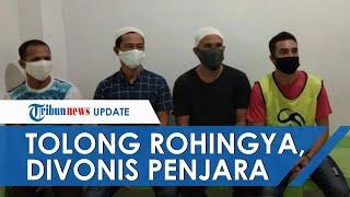 Tolong Warga Rohingya, 3 Nelayan Aceh Divonis 5 Tahun Penjara karena Langgar Aturan Imigrasi