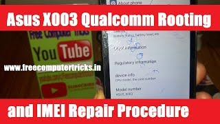 How to flash Asus X003 with with QFIL (Qualcomm Flash Image Loader