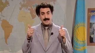 Graham Norton Speaks To Borat   Classic Comic Relief