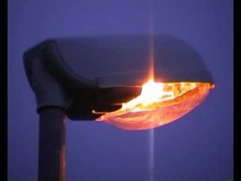 Startverhalten Natriumdampf-Hochdrucklampe