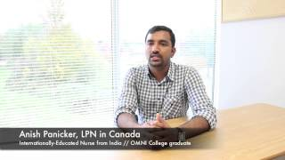 Anish - IEN from India, now a Nurse in Canada [English]