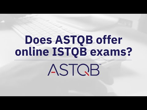 Does ASTQB offer ISTQB online exams