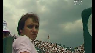 Mats Wilander Vs. Guillermo Vilas French Open Final 1982 NOT COMPLETE