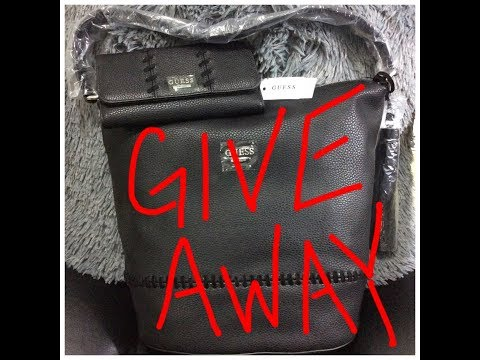 GIVEAWAY # GUESS Purse & Wallet # **CLOSED**