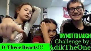Try not to laugh CHALLENGE - by AdikTheOne - Reaction! (Re-Upload From Main Channel)