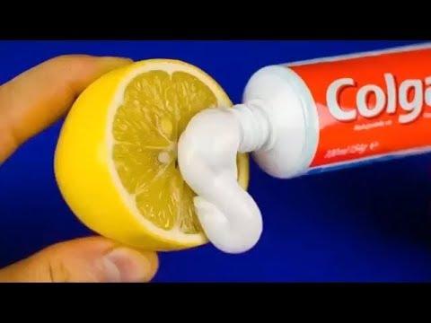 Sadece Bir Limon ve Küçük Bir Diş Macunu İle Maksimum 5 Güzellik İpucu