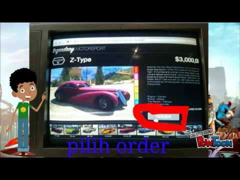 Video cara membeli mobil gratis GTA 5