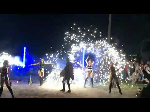 Z-show: Вогняне і світлодіодне шоу на весілля, відео 5