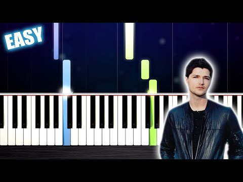 The Script - Superheroes - EASY Piano Tutorial by PlutaX