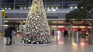 Аэропорт Дюссельдорфа подготовил сюрприз к Рождеству для жителей города и его гостей😃