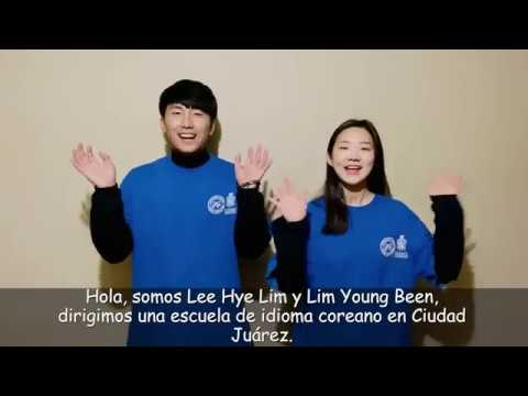 clases de coreano en CD JUAREZ IYF 2019 / 2019 IYF Korean Class in CD. JUAREZ