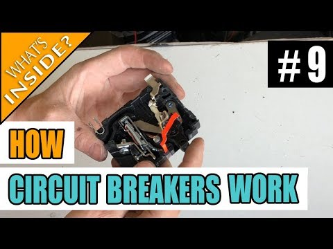 How Circuit Breakers Work – Whats Inside A Breaker