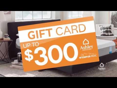 Video Ashley HomeStore's Fall Into Savings Mattress Event